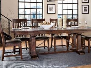 Rustic Dining Table Coeur d Alene