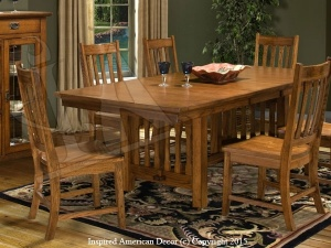 Mission Dining Table Set